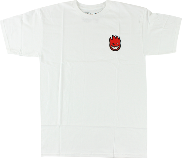 Sf Lil Bighead Fill Ss S-Wht/Red