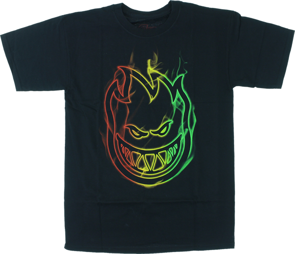 Sf Rasta Smoke Ss L-Black
