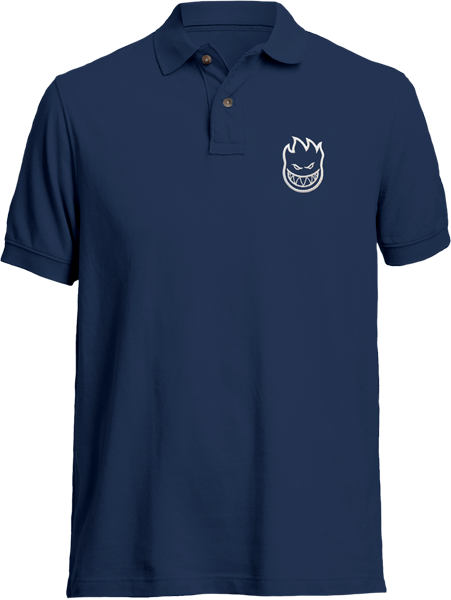 Sf Std.Issue Bighead Polo Ss S-Navy