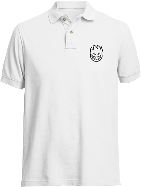 Sf Std.Issue Bighead Polo Ss L-White