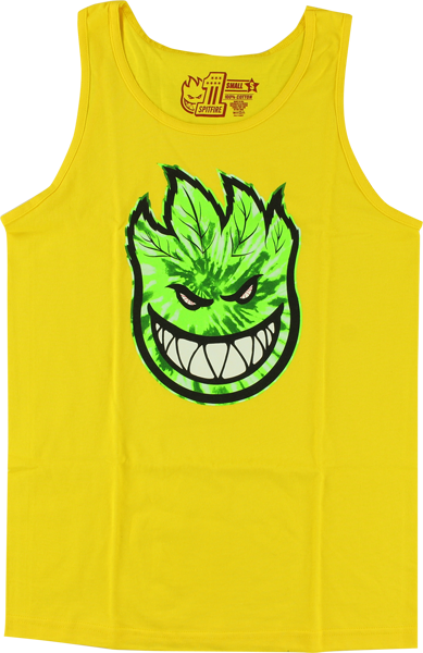 Sf Sparked Tank Top L-Yellow