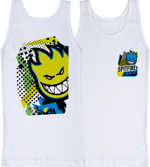 Sf 20/20 Tank Top S-White