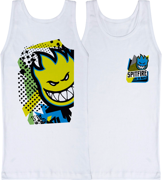Sf 20/20 Tank Top L-White