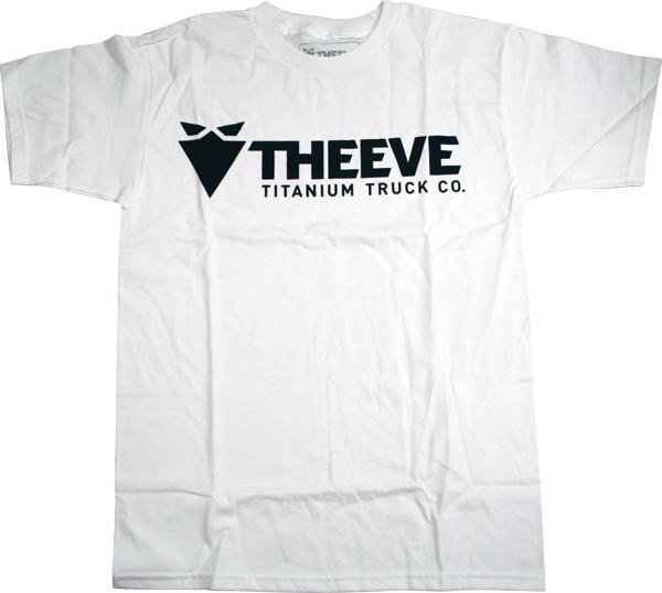 Theeve Long Logo Ss S-Blk/Wht