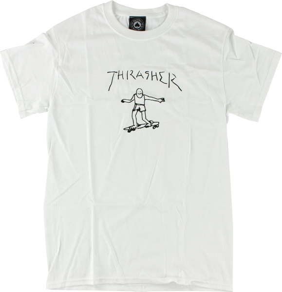 Thrasher Gonzales Ss Xl-White