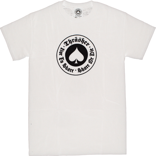 Thrasher Oath Ss Xl-White