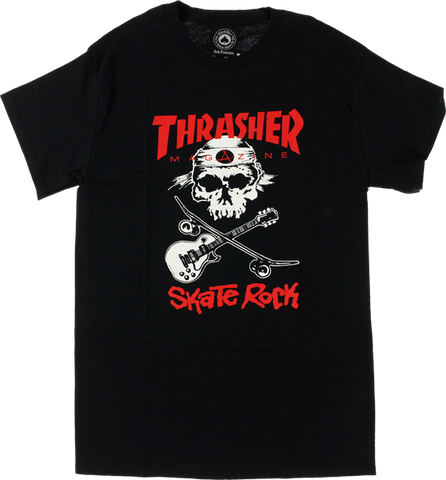 Thrasher Skate Rock Ii Ss Xl-Black