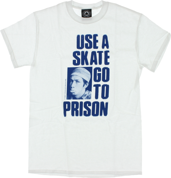 Thrasher Use A Skate Ss Xl-Wht/Blu