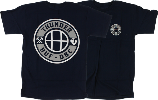 Thunder X Huf Mainline Ss Xl-Navy