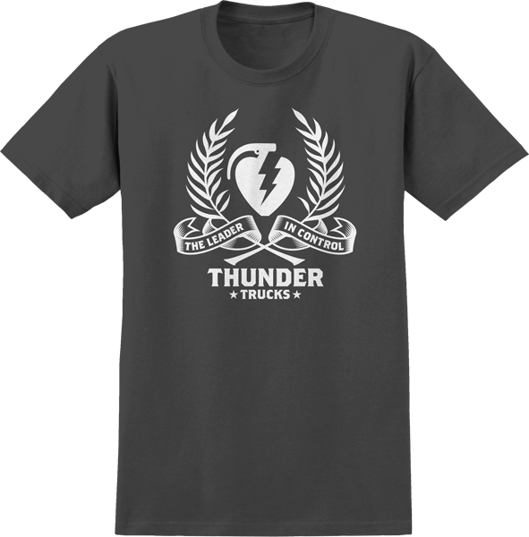 Thunder Wreath Ss L-Charcoal/Wht