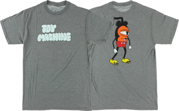 Tm Mouseketeer Ss Xl-Dark Heather Grey