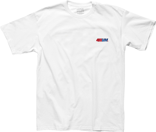 Transworld 411Vm Embroidered Ss Xl-White