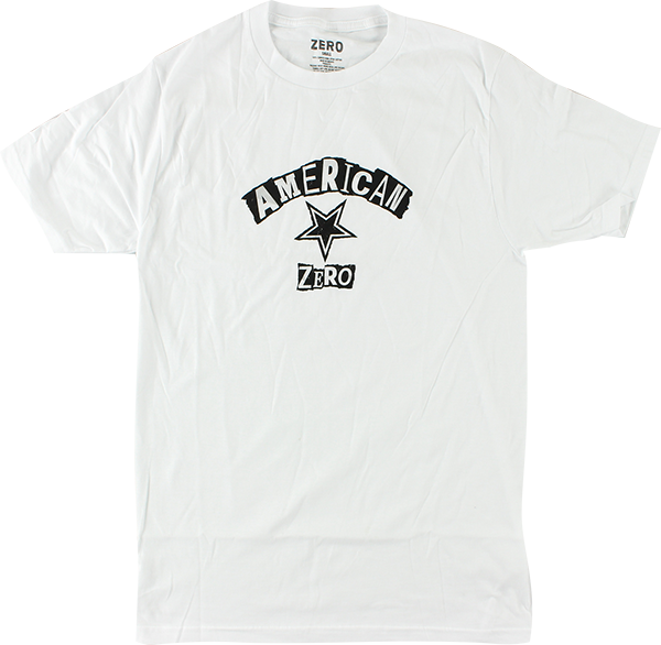 Zero Ransom Note Ss Xl-White/Blk