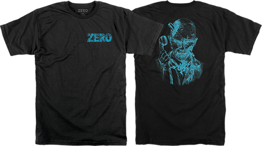 Zero Thomas Zombie Backprint Ss Xl-Black/Blu