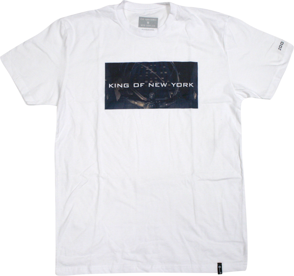 Zoo King Of New York Ss Xl-White