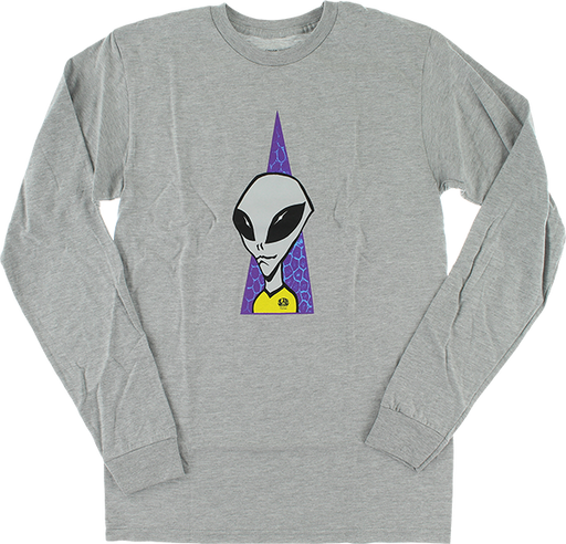 Aw Visitor L/S S-Heather Grey