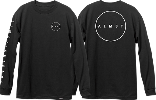 Alm Cryptic L/S S-Black