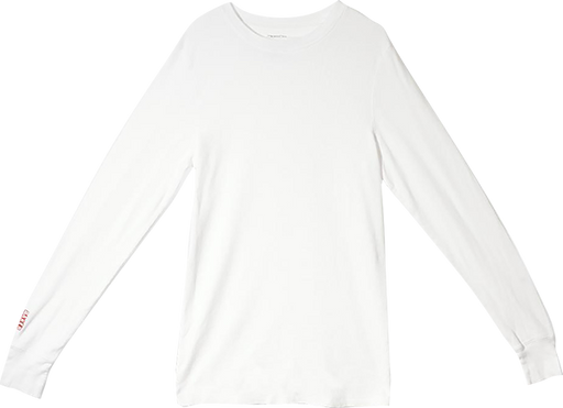 Baker Brand Logo L/S Thermal S-White