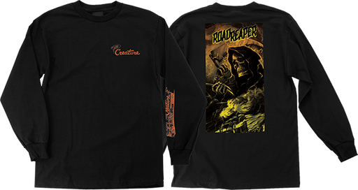 Creature Roadside Terror L/S Xl-Black