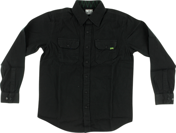 Creature Coroner L/S Button Up Xl-Black