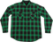 Creature Damned L/S Button Up Xl-Grn/Blk Plaid
