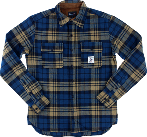 Diamond Caribou Flannel L/S Buttonup M-Golden Brn