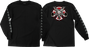 Inde Thrasher Pentagram Cross L/S Xl-Black