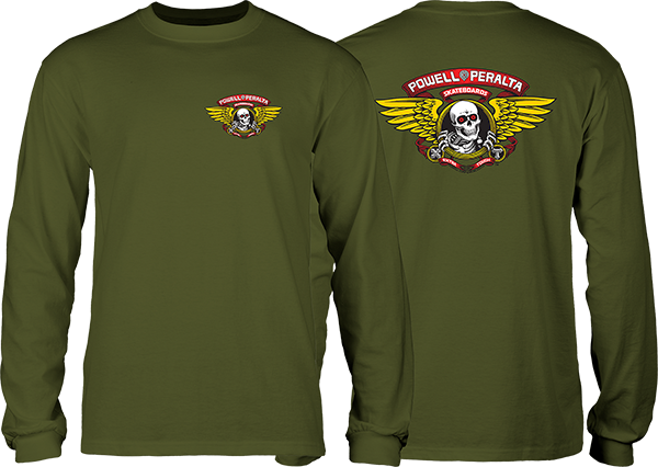 Pwl/P Winged Ripper L/S S-Military Green