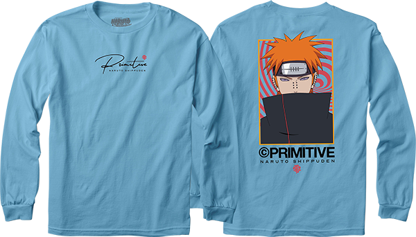 Primitive Know Pain L/S S-Carolina Blue