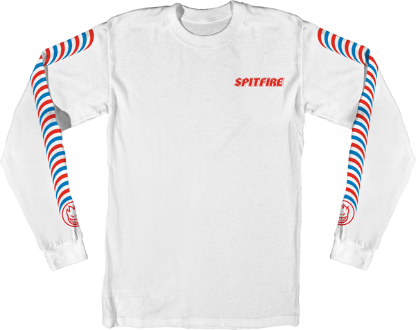 Sf Classic Stripes  L/S M-White