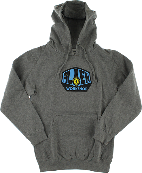 Aw Og Logo Hd/Swt L-Heather Grey/Blue