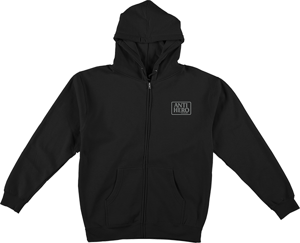 Ah Reserve Zip Hd/Swt Xl-Blk/Grey