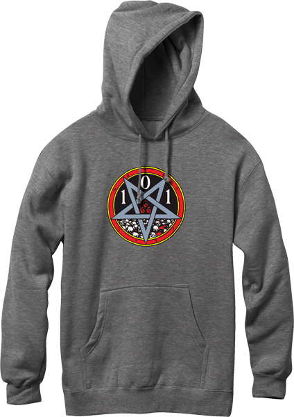 Cliche Heritage Devil Worship Hd/Swt S-Charcoal