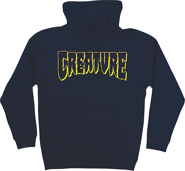 Creature Logo Outline Hd/Swt L-Navy