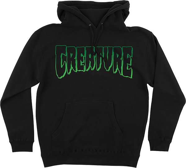 Creature Logo Outline Hd/Swt L-Black