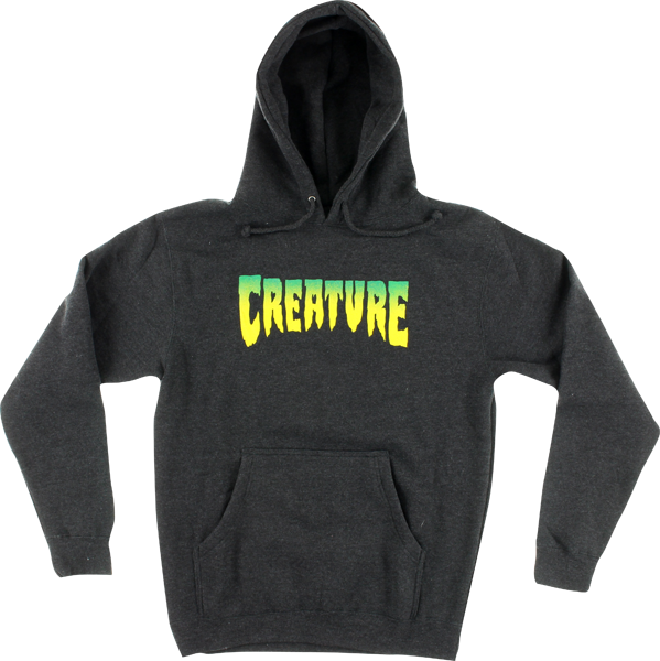 Creature Logo Hd/Swt S-Charcoal Heather