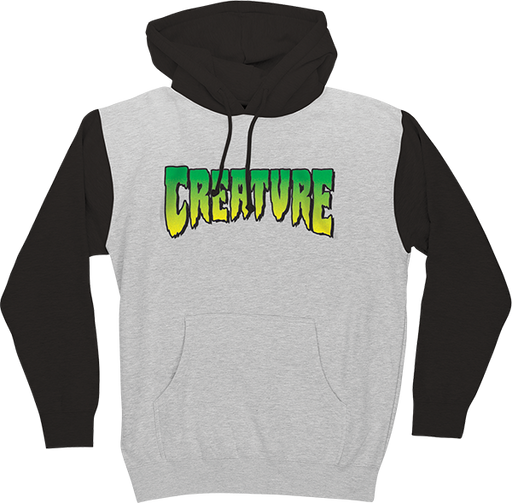 Creature Logo Hd/Swt Xl-Grey Heather/Black