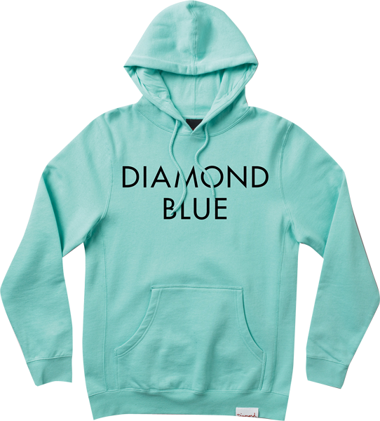 Diamond Blue Hd/Swt Xxl-Diamond Blue/Blk