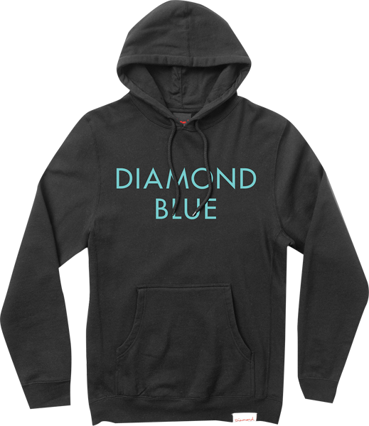 Diamond Blue Hd/Swt Xxl-Blk/Diamond Blue