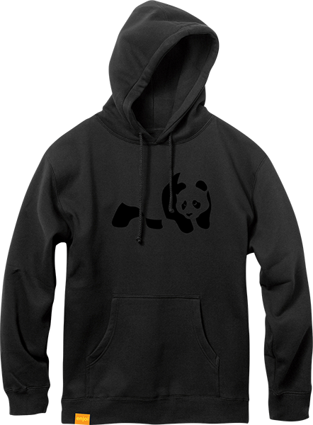 Enj Panda Flocking Hd/Swt Xl-Black