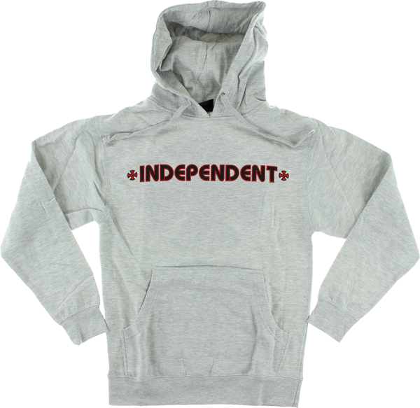 Inde Bar/Cross Hd/Swt M-Heather Grey