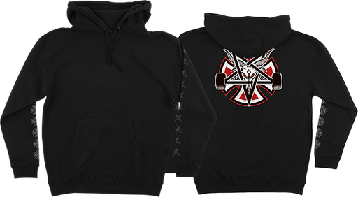 Inde Thrasher Pentagram Cross Hd/Swt S-Black