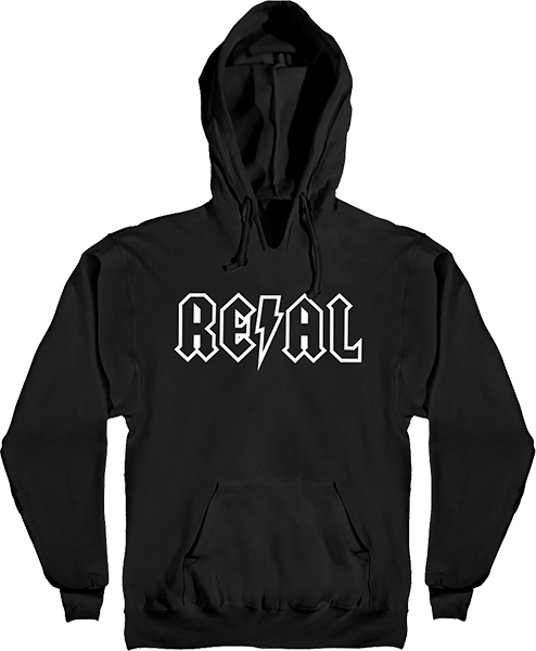 Real Deeds Outline Hd/Swt Xl-Black/Wht
