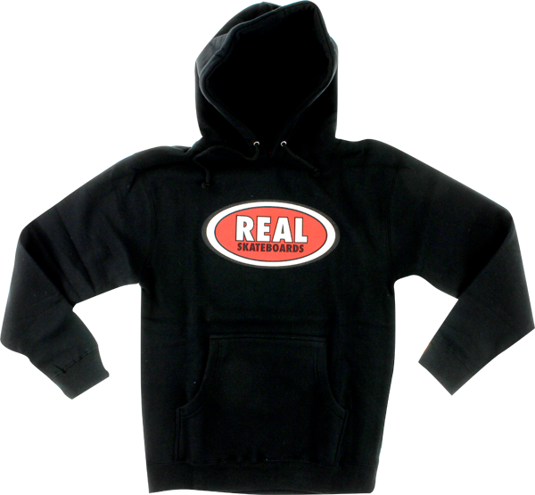 Real Oval Hd/Swt L-Black