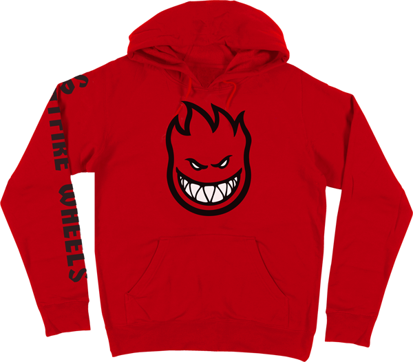 Sf Bighead Fill Sleeve Hd/Swt M-Red