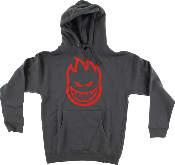 Sf Bighead Hd/Swt L-Charcoal/Red