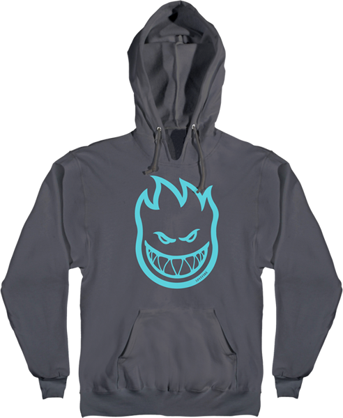 Sf Bighead Hd/Swt Xl-Charcoal/Teal