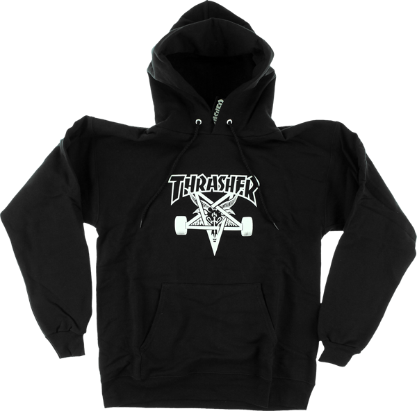 Thrasher Skategoat Hd/Swt M-Black