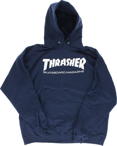 Thrasher Skate Mag Hd/Swt Xl-Navy/Wht