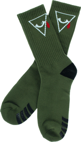 Aw Psyop Crew Socks Army 1 Pair